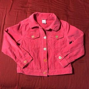Gap little girl jean jacket